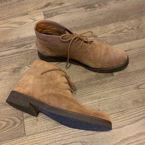 Eddie Bauer Suede Tan Boots